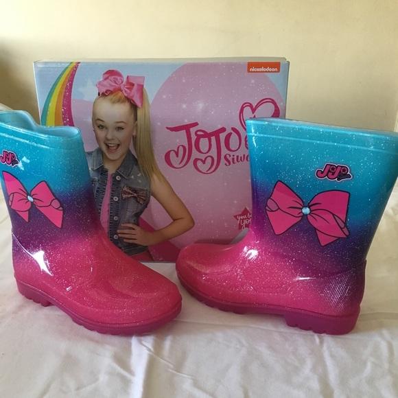 Girls Rain Boots Jojo Siwa